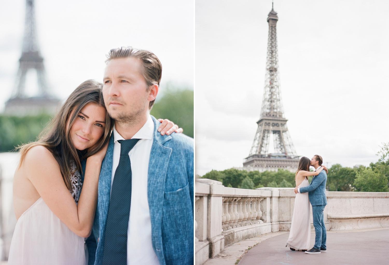 Fine Art Wedding Eiffel Tower