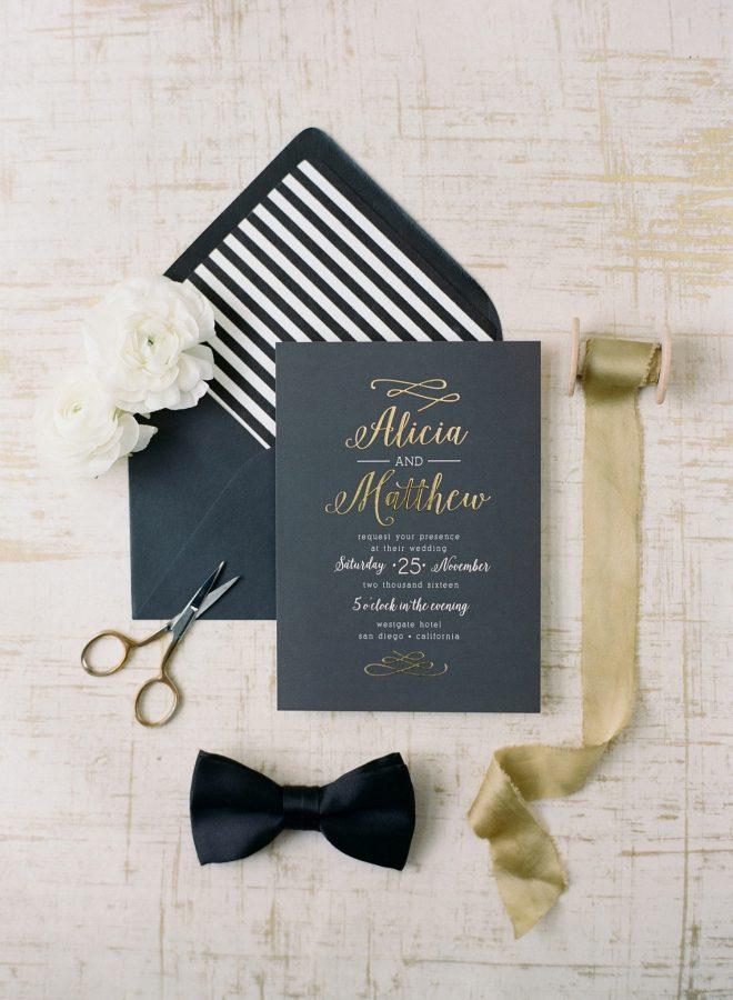 Wedding Invitation Styling