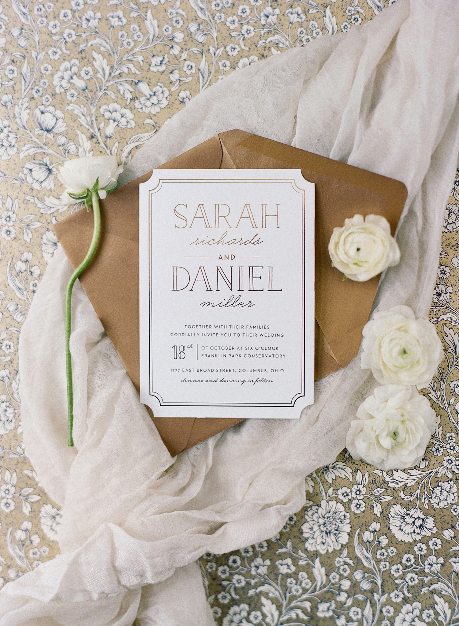 Wedding Invitation Styling