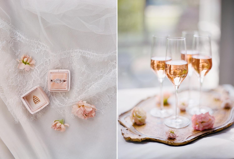 rose wedding inspiration in holland