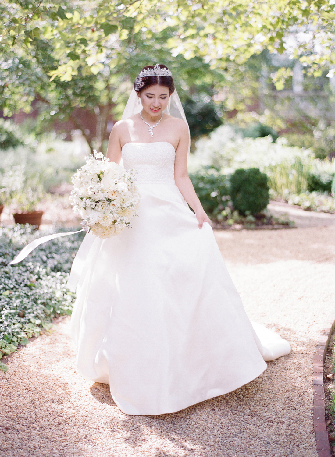 dumbarton garden wedding photos, washington dc
