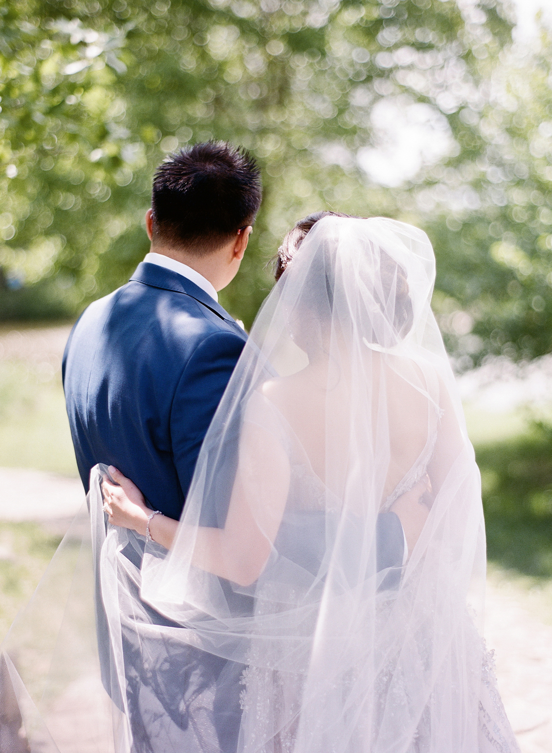 meadowlark botanical garden wedding portraits