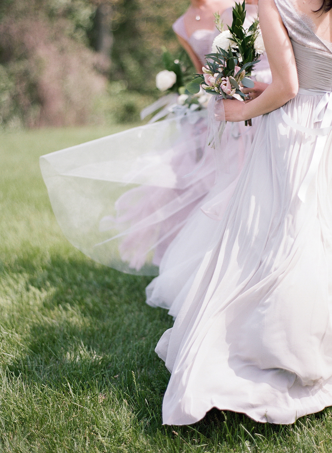 Blush Wedding Party Washington DC