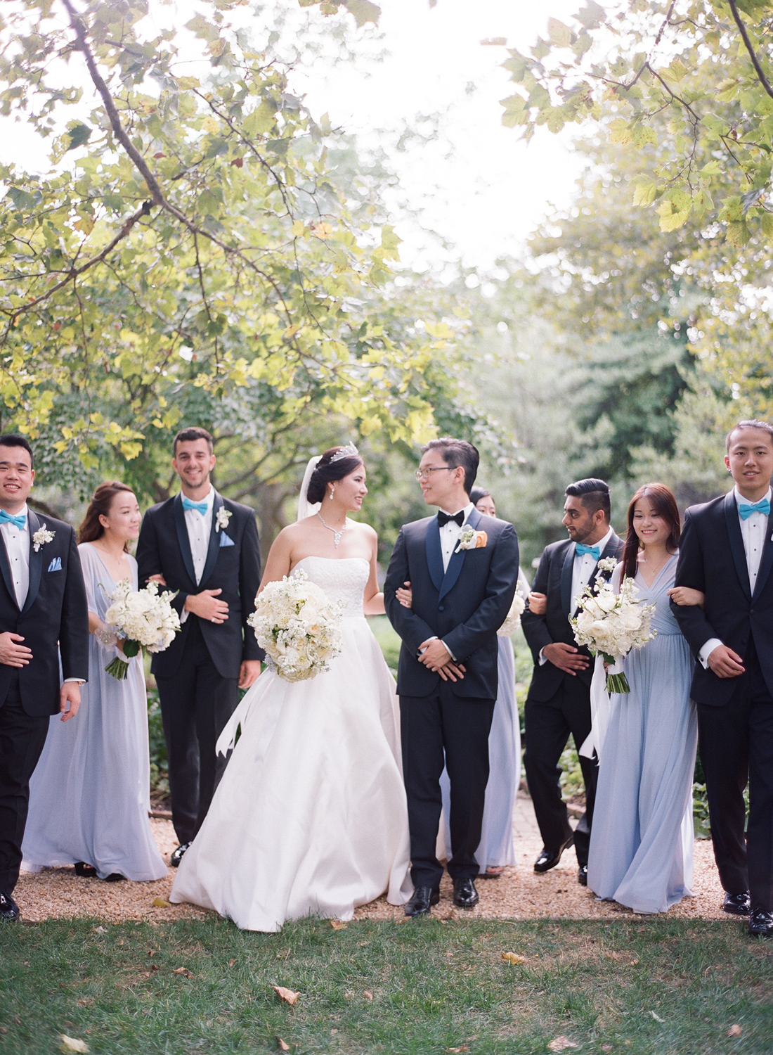 periwinkle blue bridal party