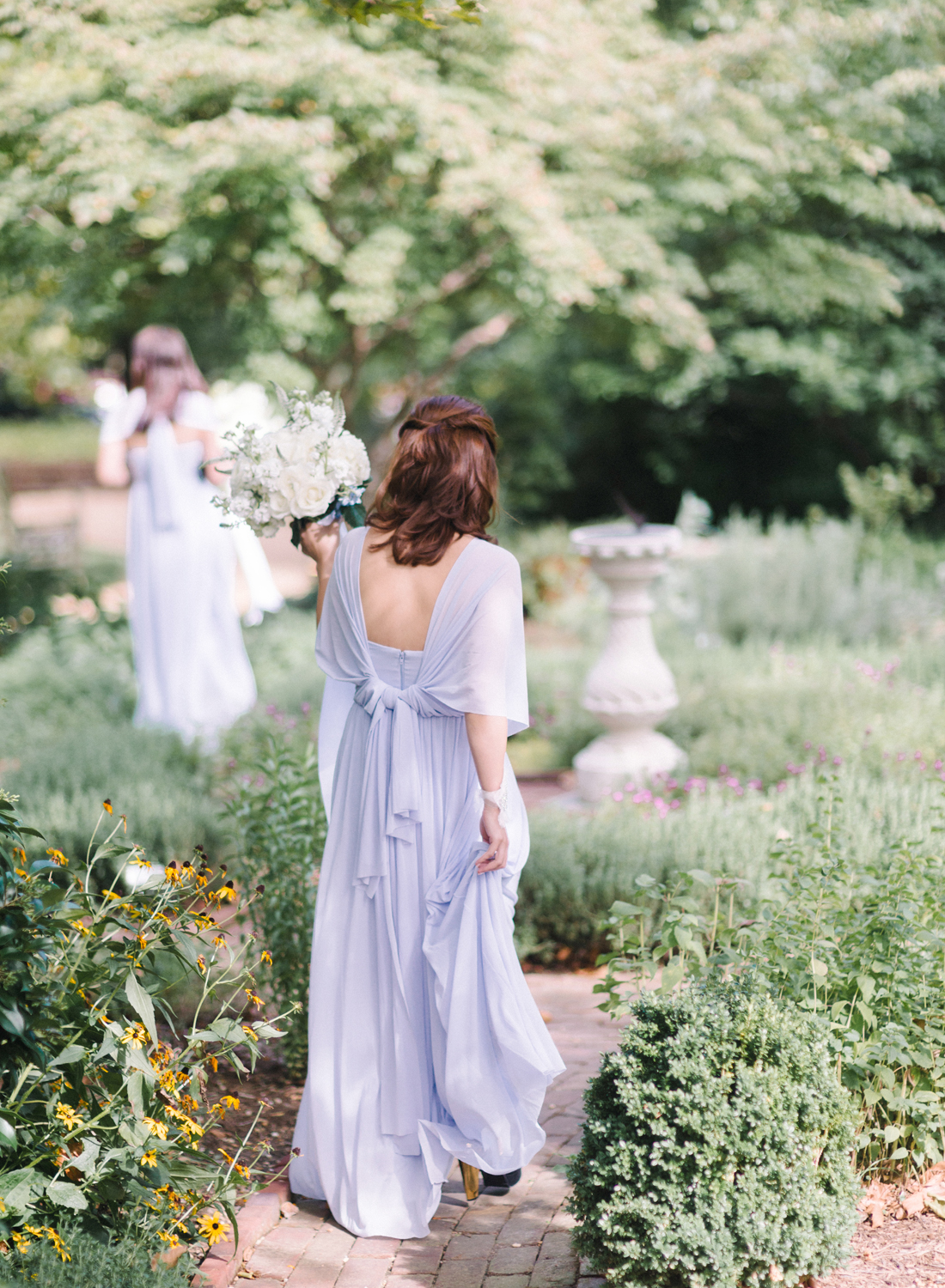 periwinkle blue bridesmaids dresses