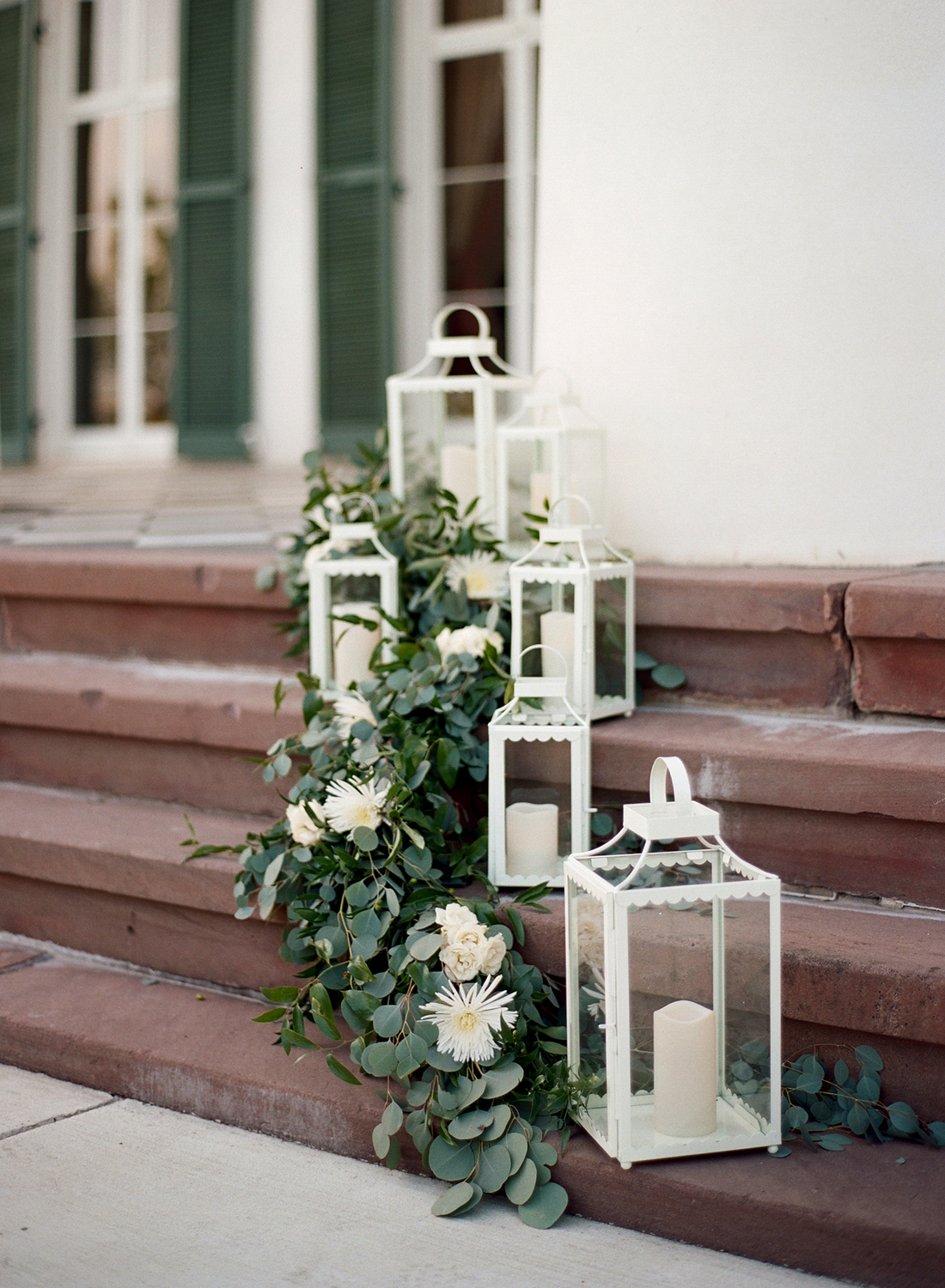morven park wedding ceremony decor
