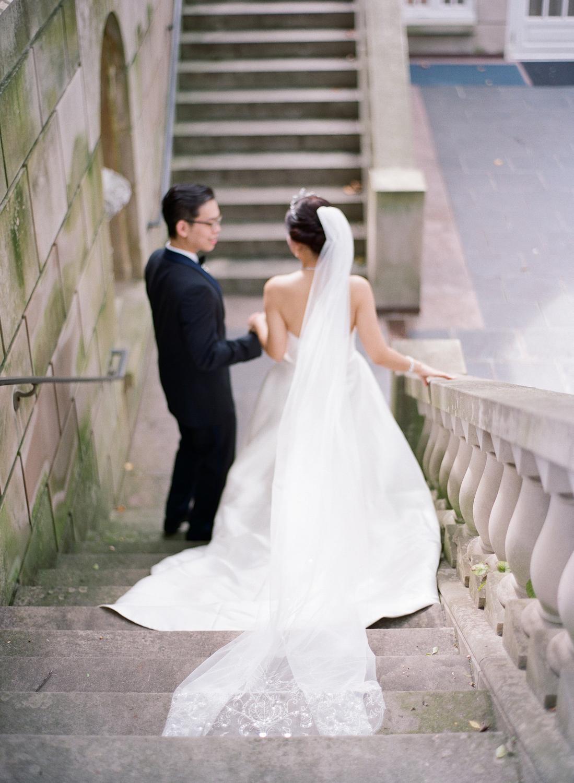 Black Tie Dumbarton House Wedding