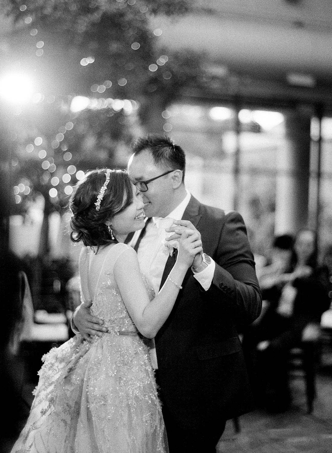 black and white first dance washington dc
