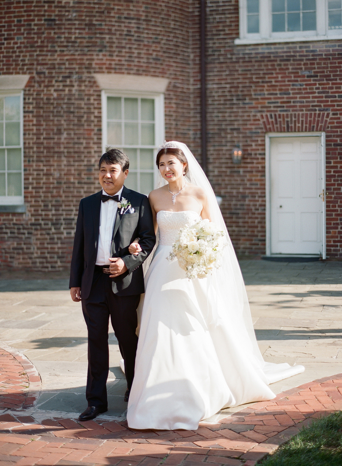 dumbarton house wedding, georgetown film photographer