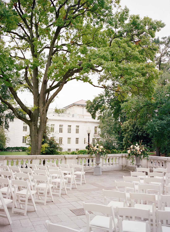 Wedding Ceremony DAR Washington DC