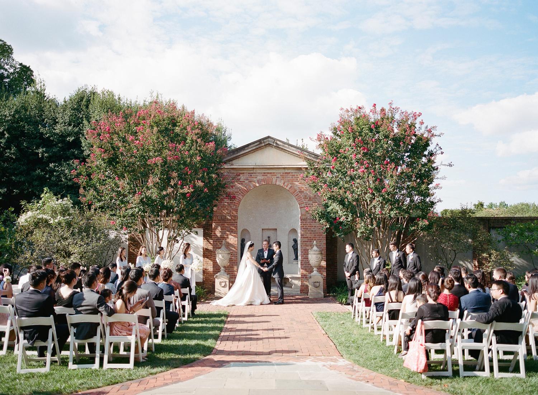 dumbarton house dc fine art film wedding ceremony