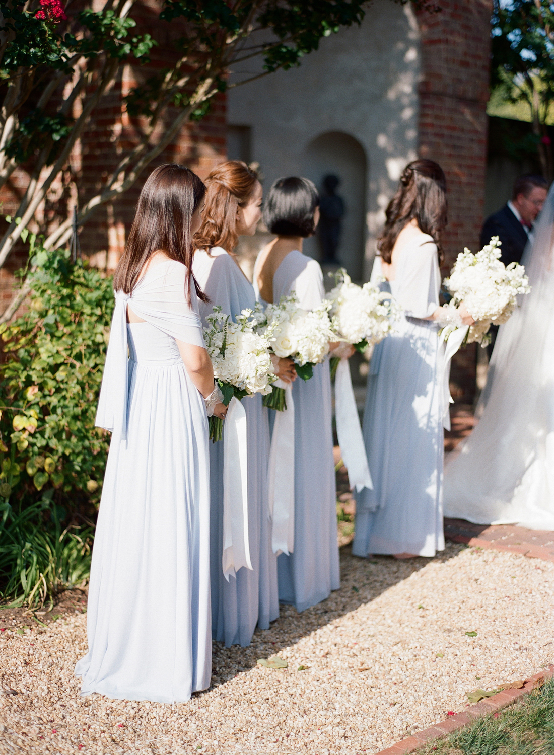 periwinkle bridesmaids dresses