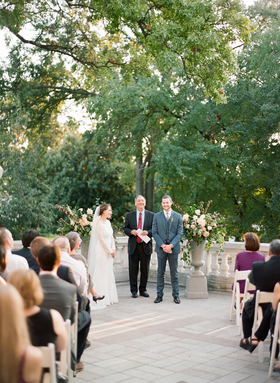 DAR Constitution Hall Fine art film wedding photographer Washington DC