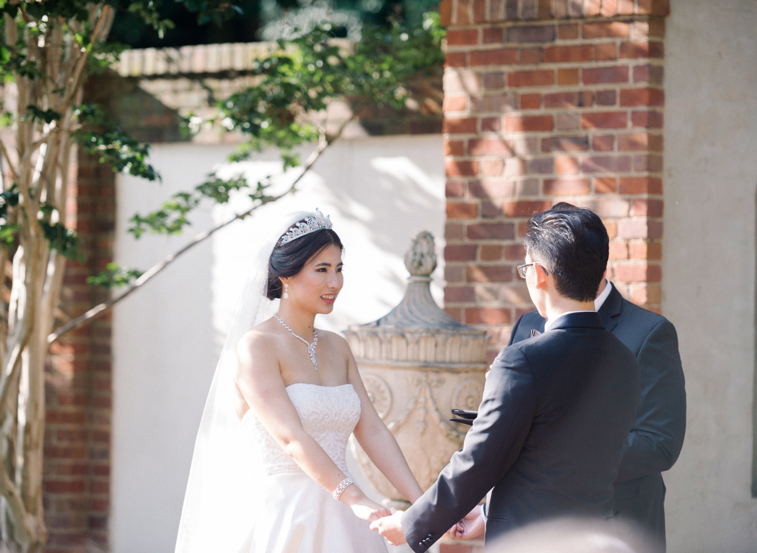 dumbarton house dc fine art film wedding ceremony