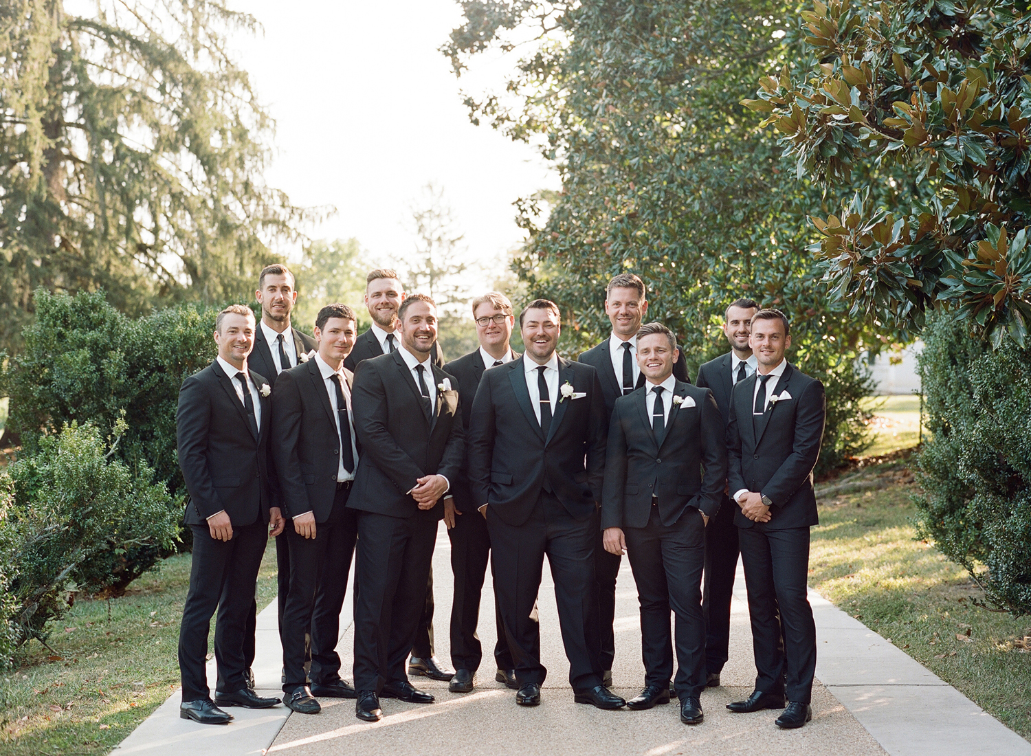 Black tie groomsmen Washington Dc photographer