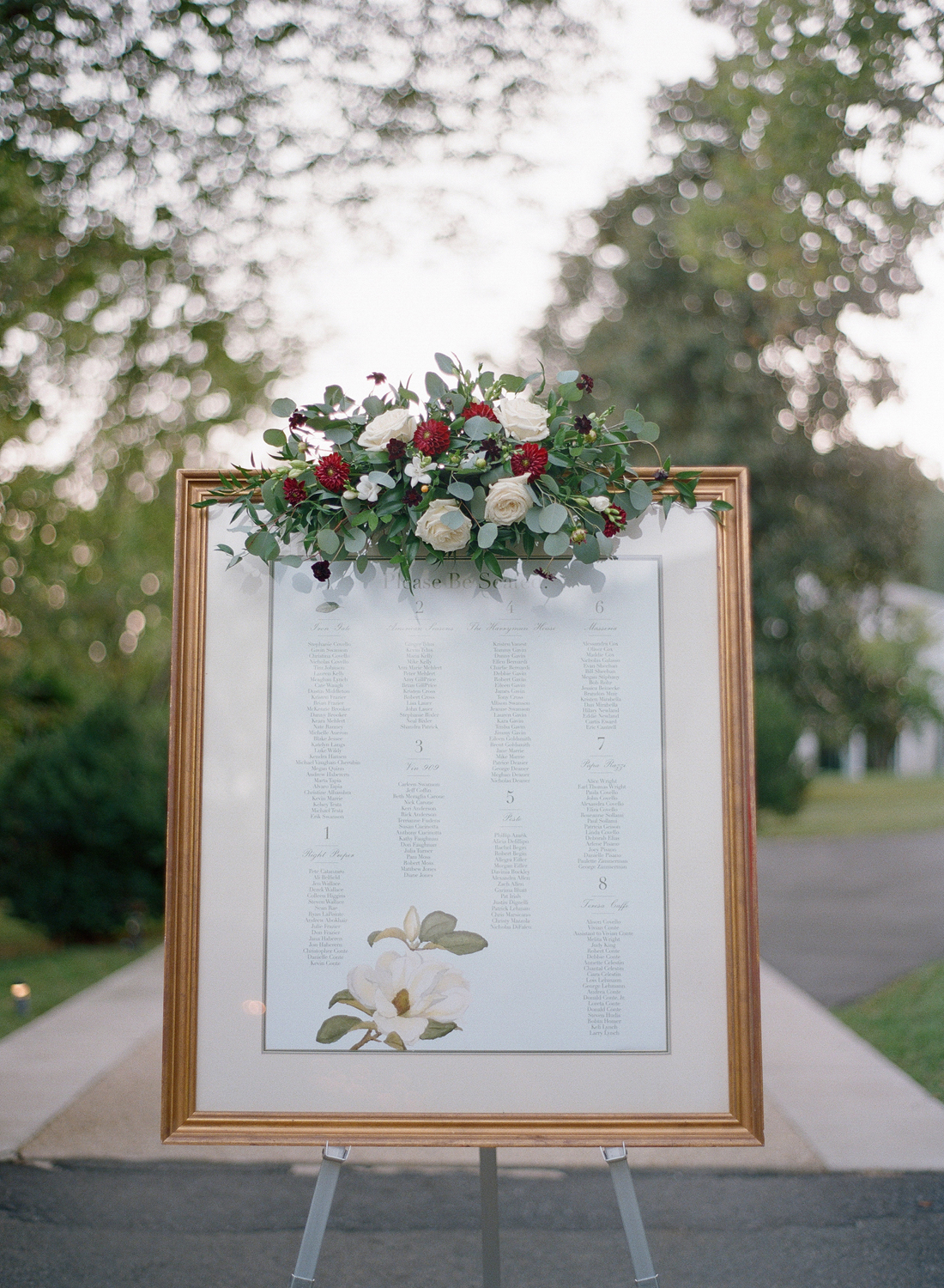 greenery wedding decor, Leesburg Virginia wedding