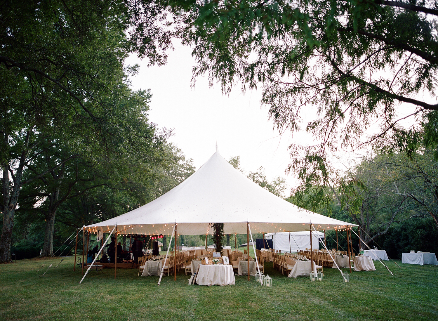 morven park green tent wedding