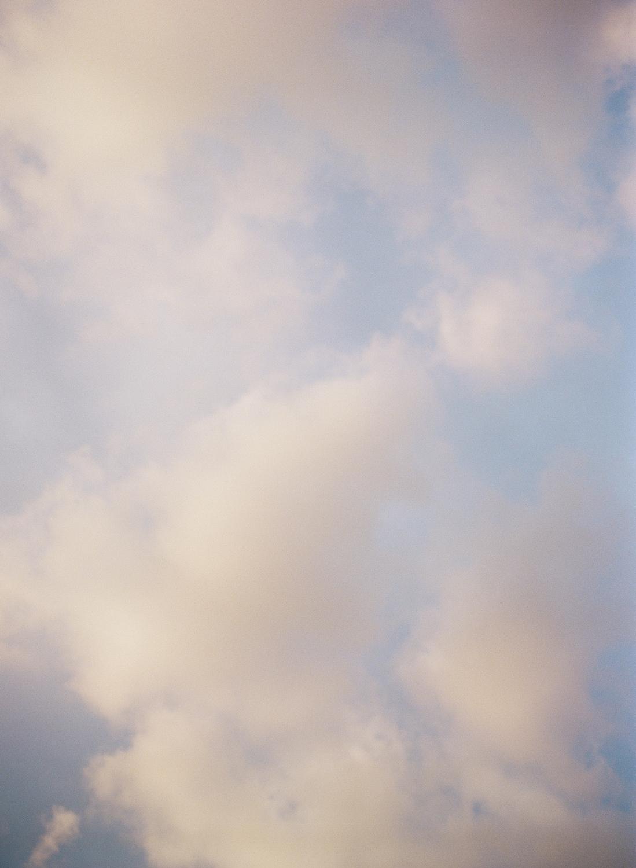 Sky over Washington DC
