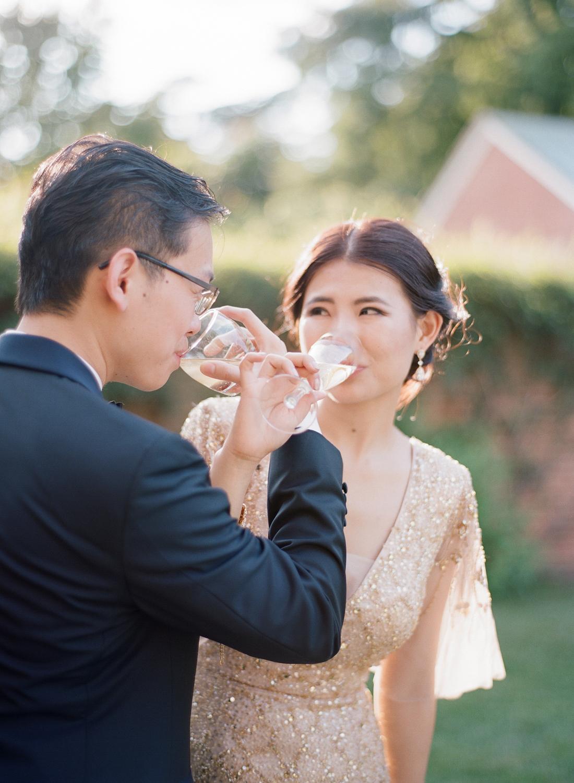 fine art film dumbarton house wedding photographer