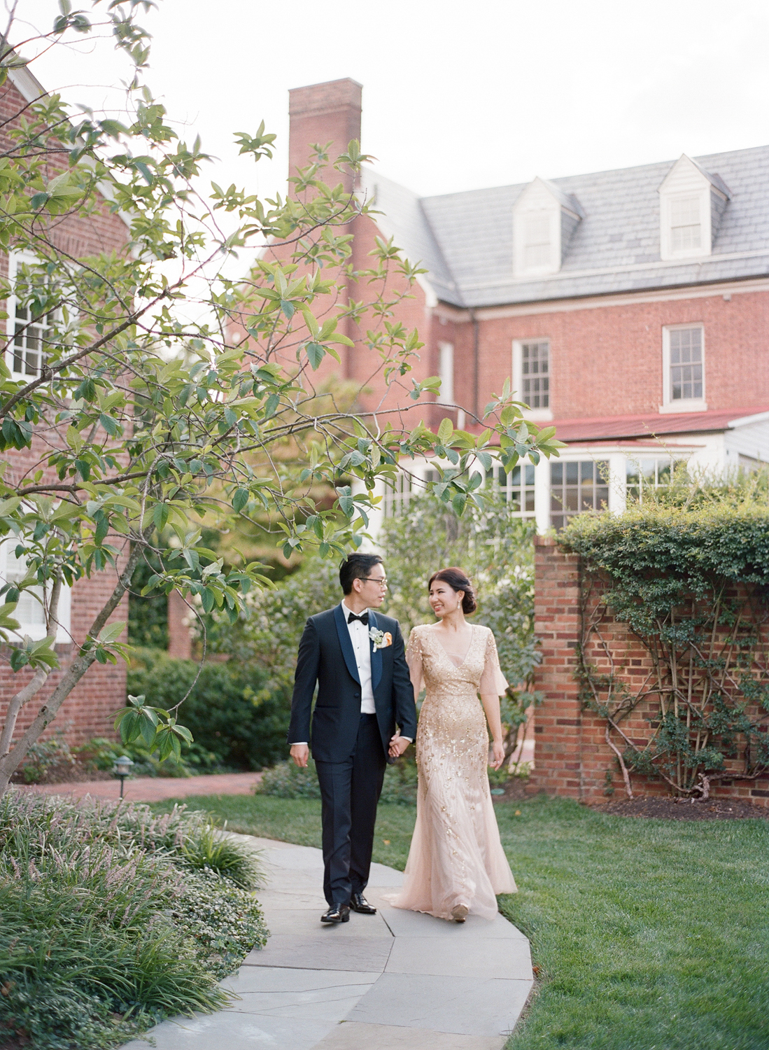 fine art film dumbarton house wedding photographer