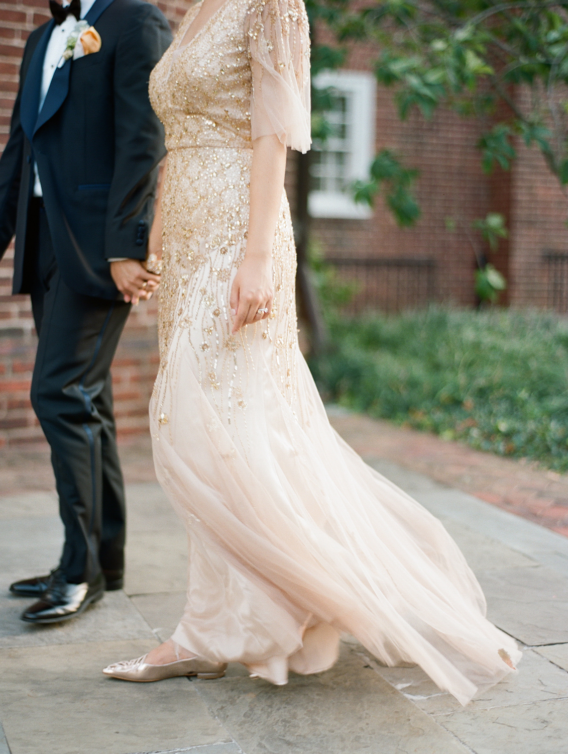 gold black tie dumbarton house wedding photographer