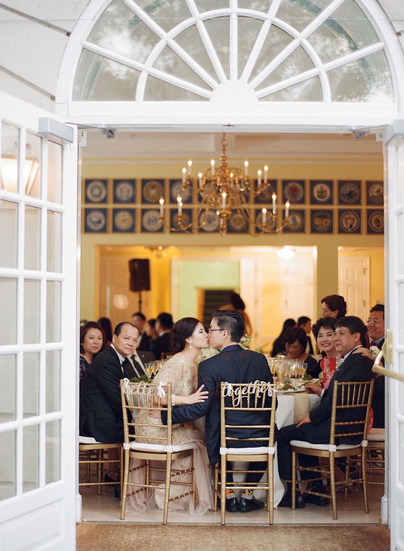 fine art film dumbarton house wedding reception washington dc
