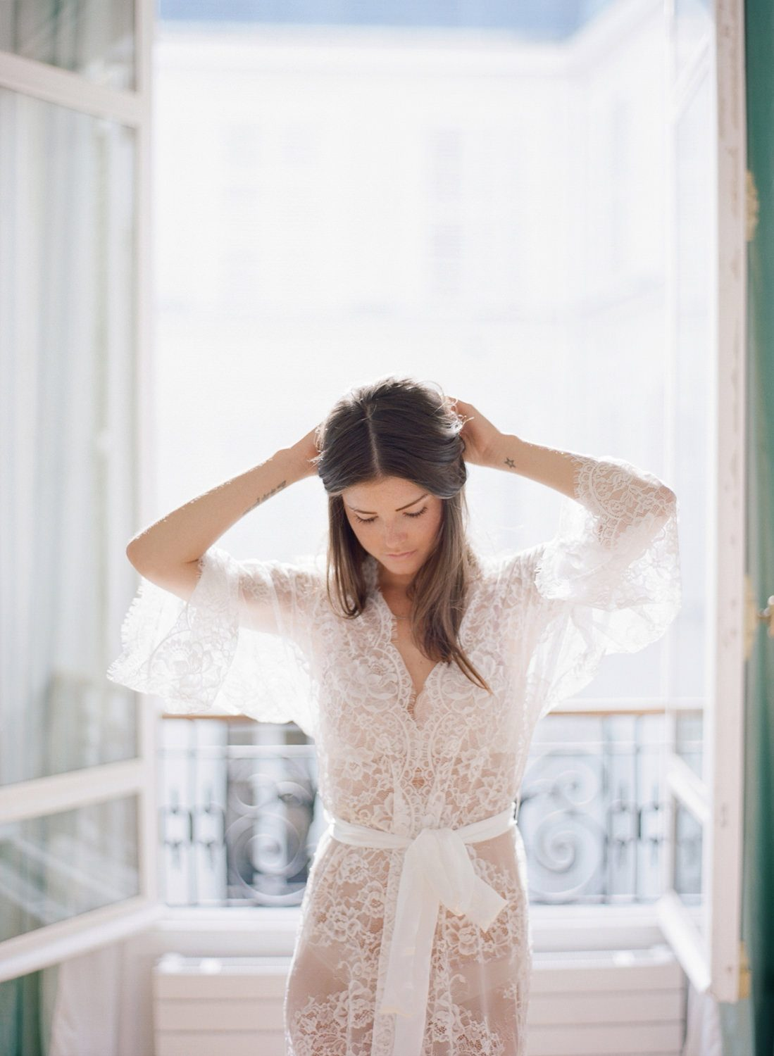 Parisian Boudoir Session I Paris France Destination