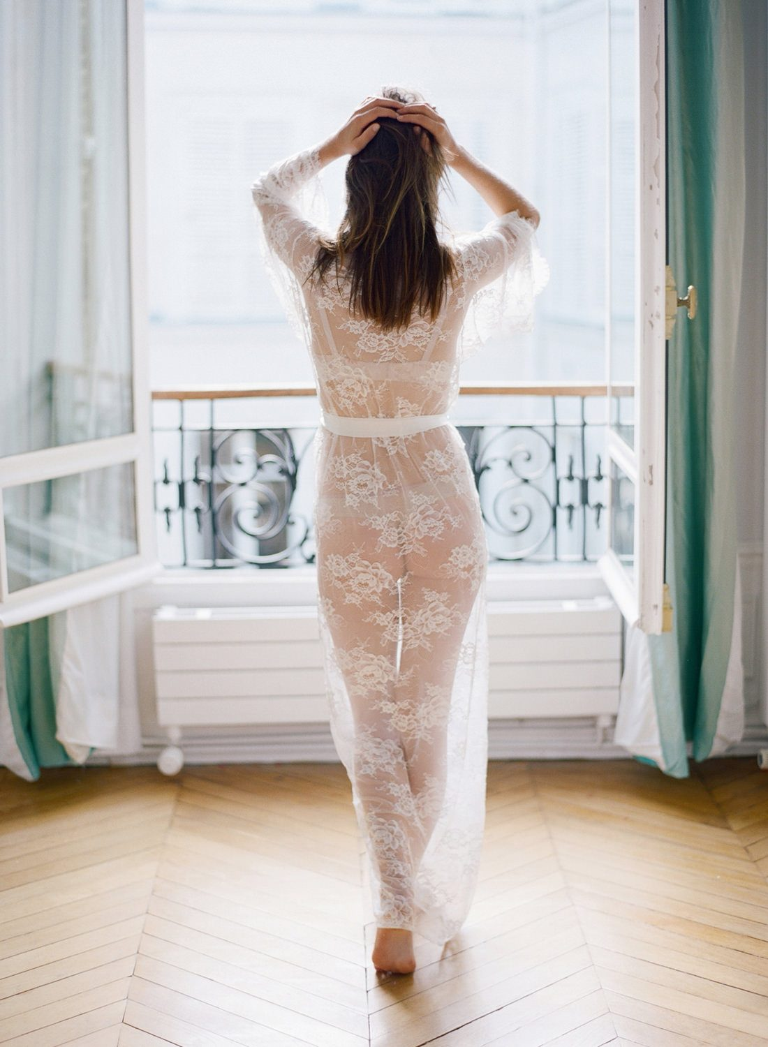 parisian boudoir session