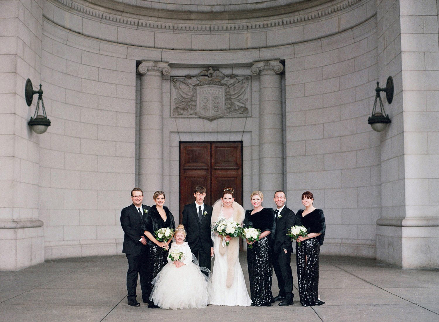 winter wedding in washington dc