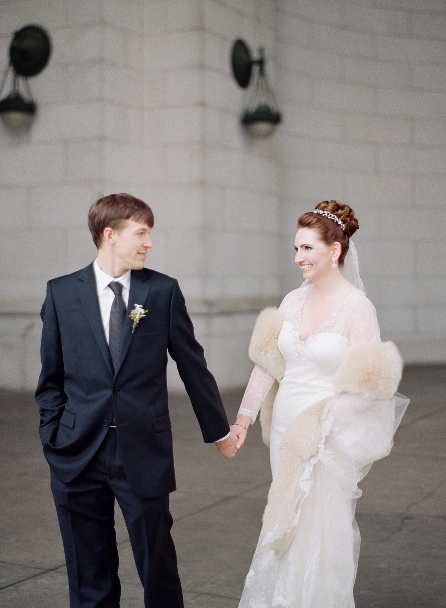 washington dc winter wedding union station