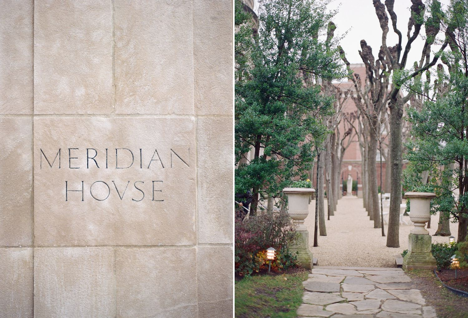 Meridian House Winter Wedding