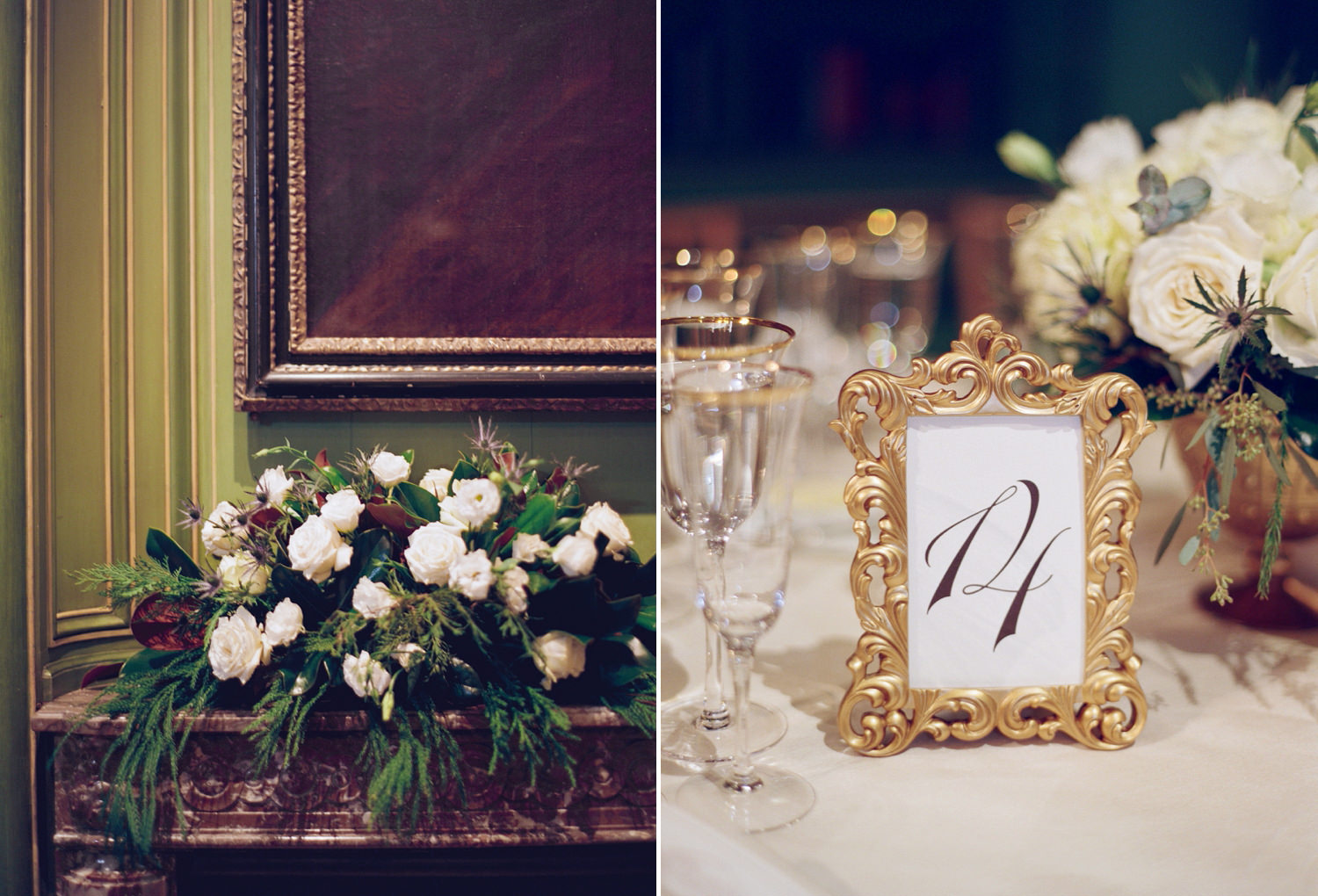 meridian house wedding reception decor