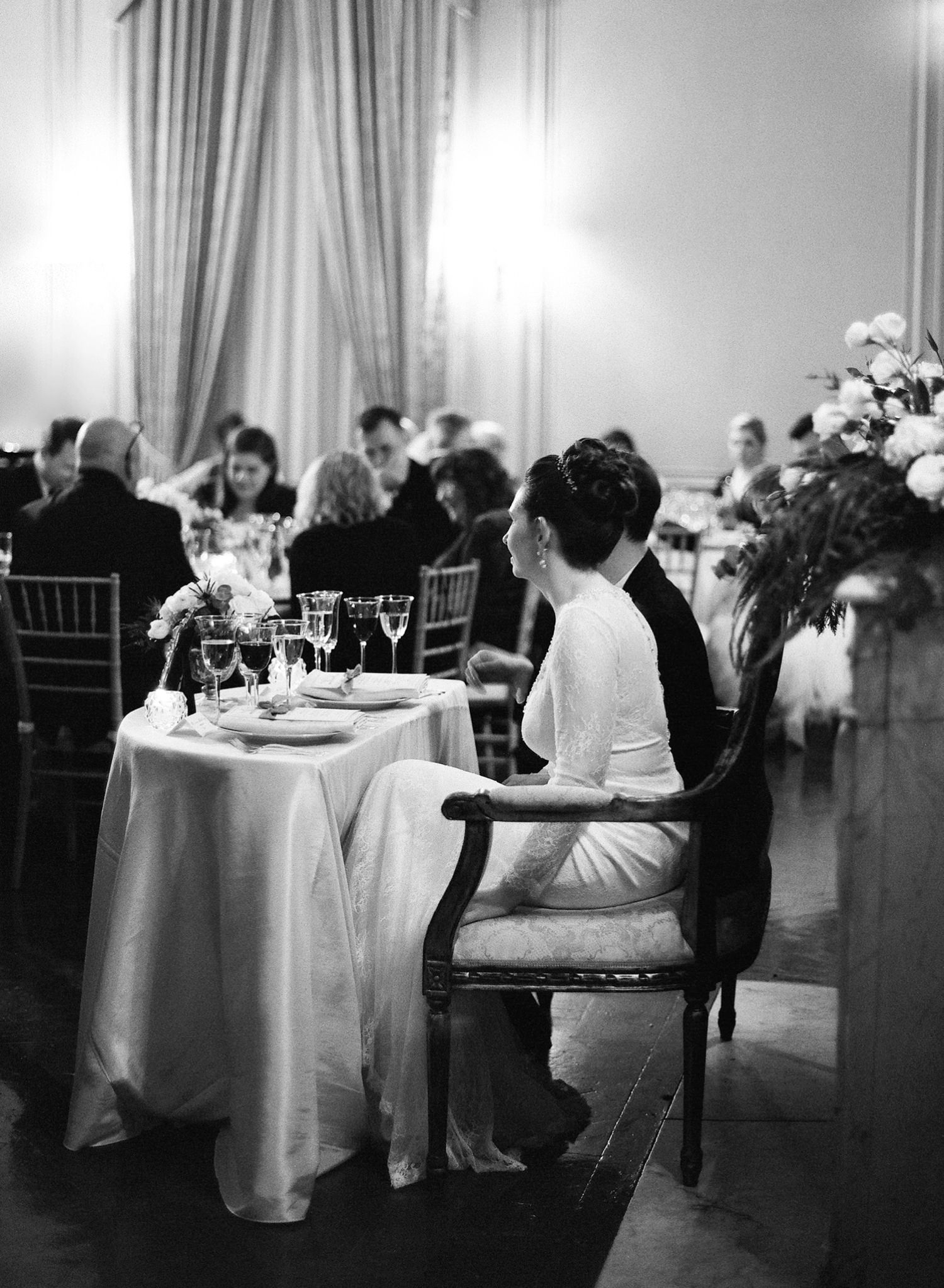meridian house wedding reception, fine art film photographer