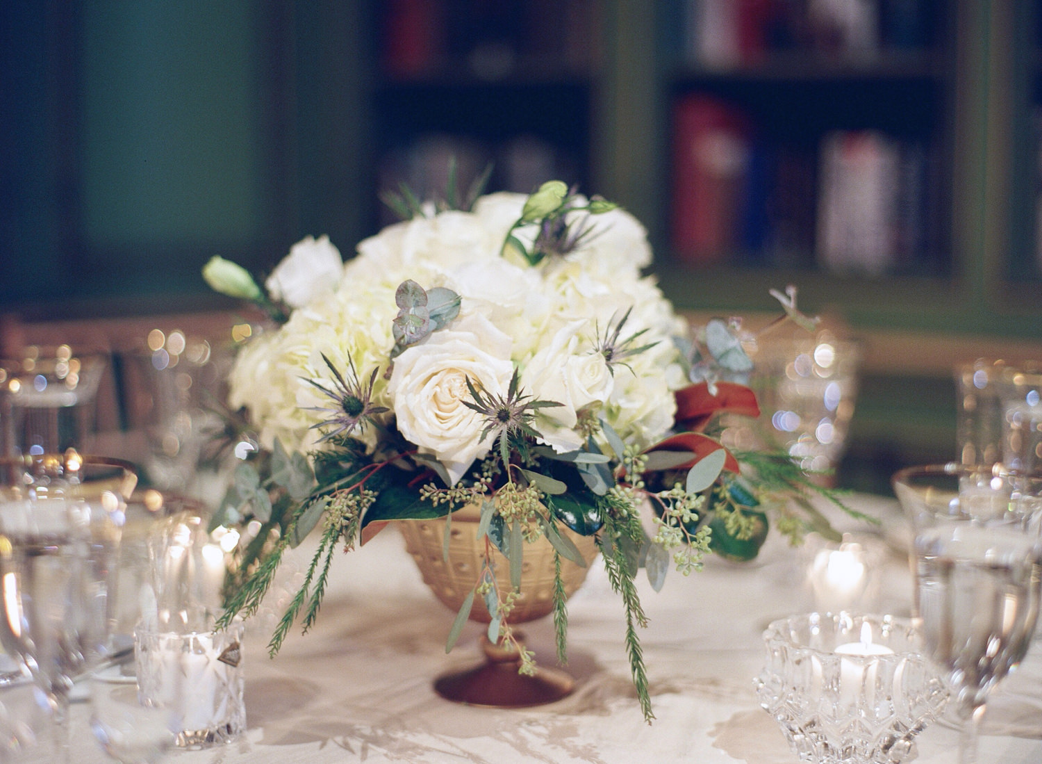 meridian house wedding reception centerpieces
