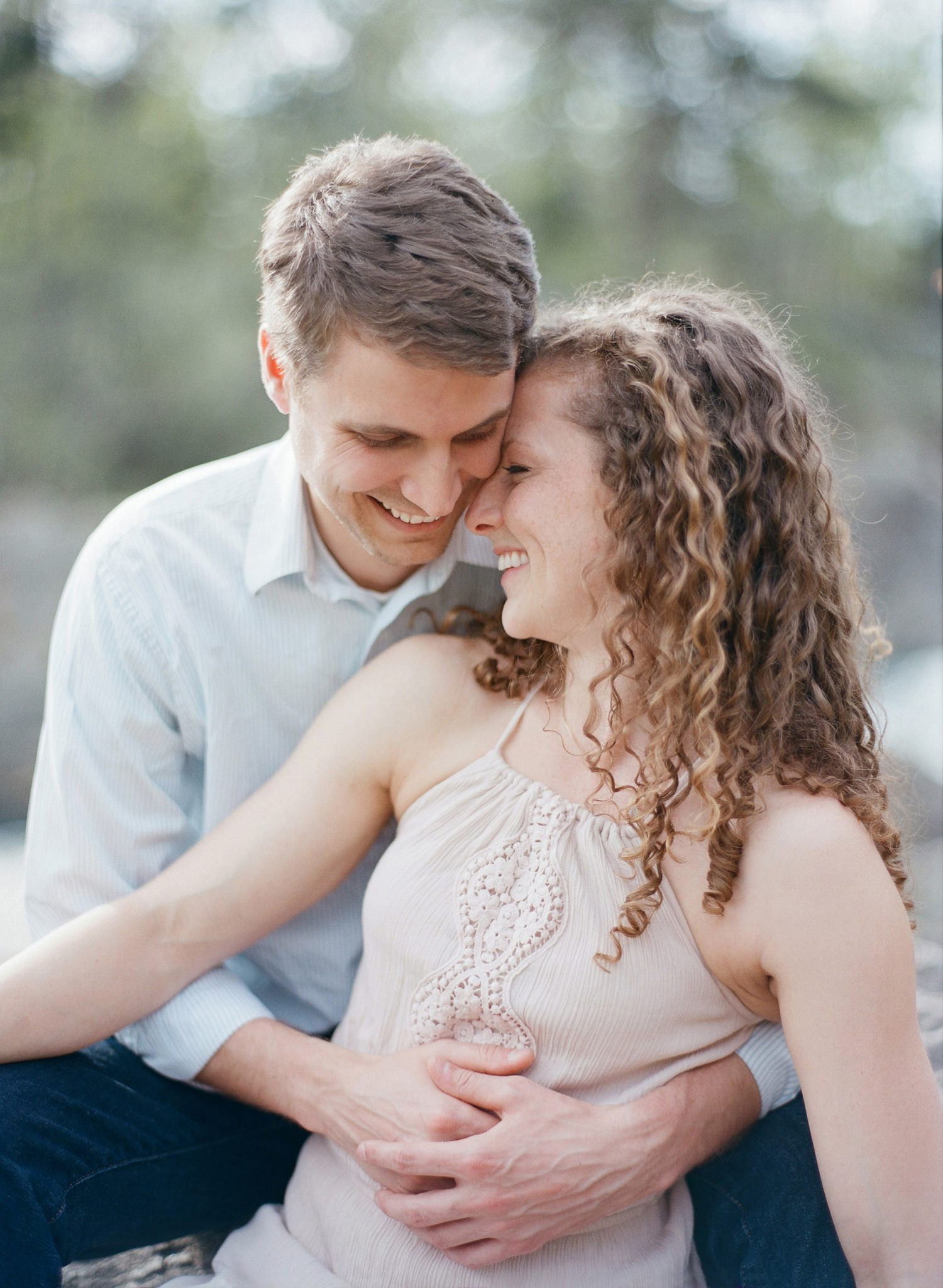 great falls engagement session