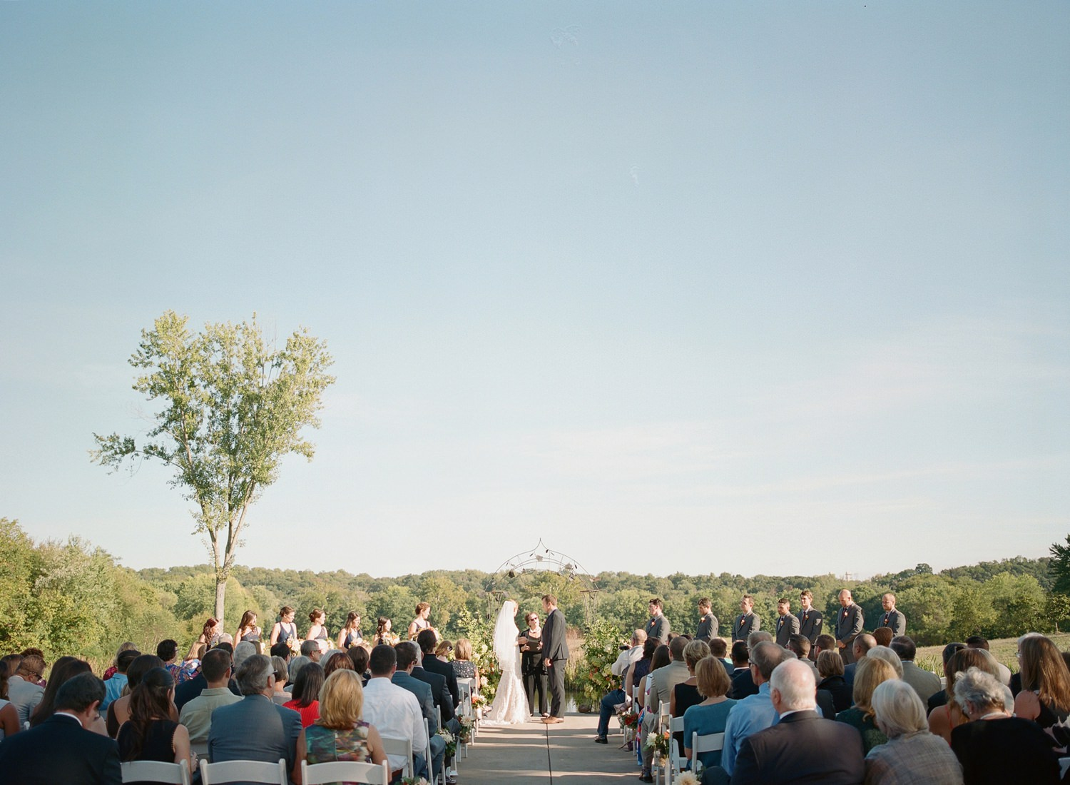 riverside on the potomac wedding ceremony