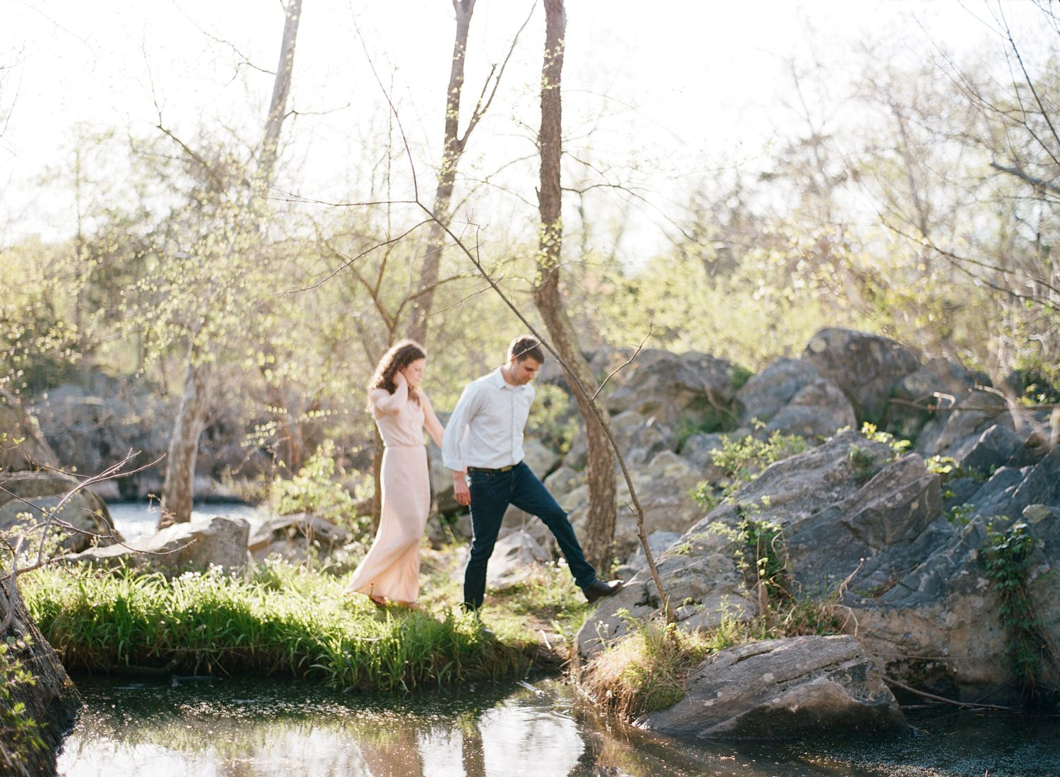 great falls engagement session, virginia photographer