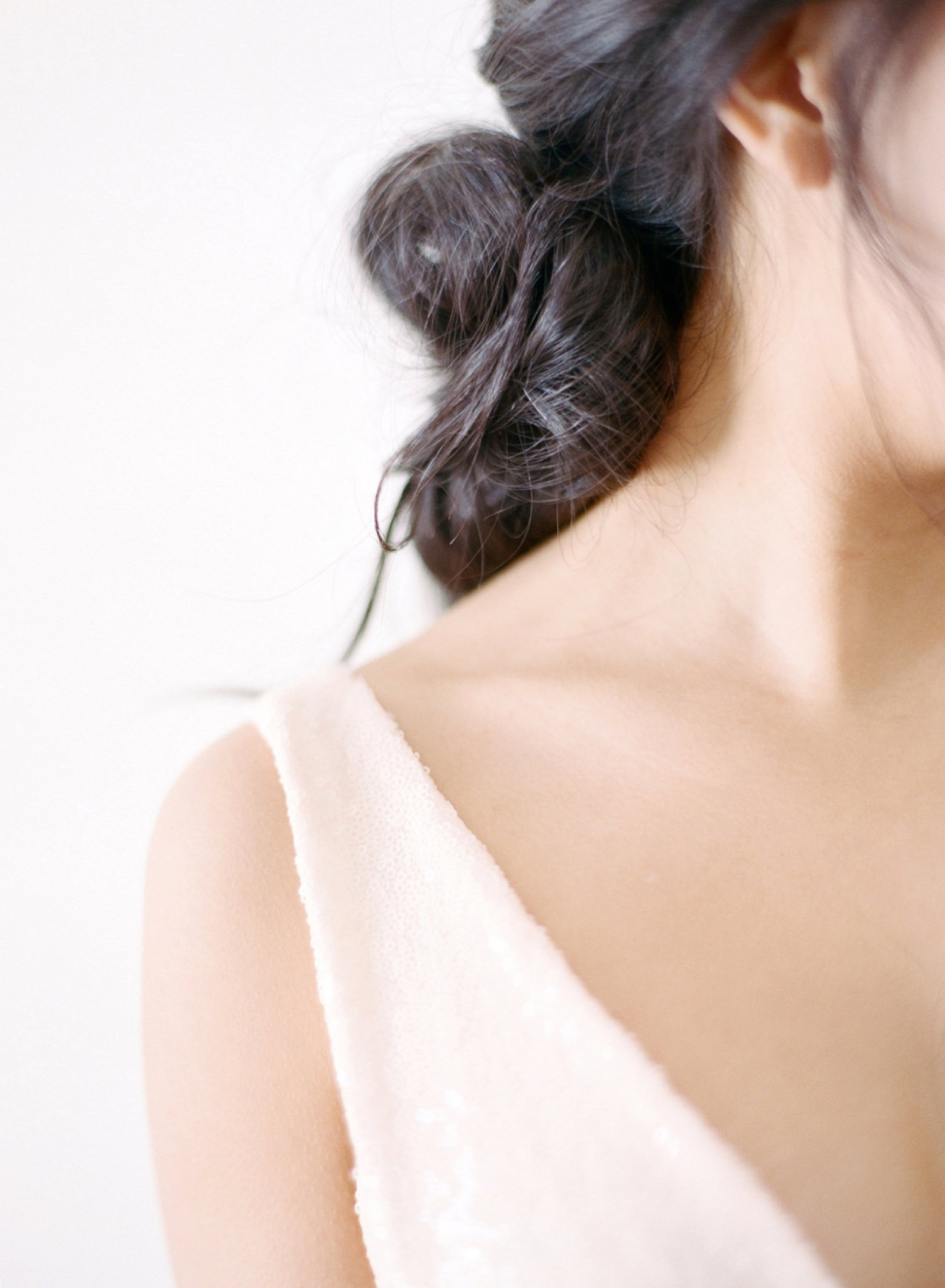 elegant bridal hairstyle