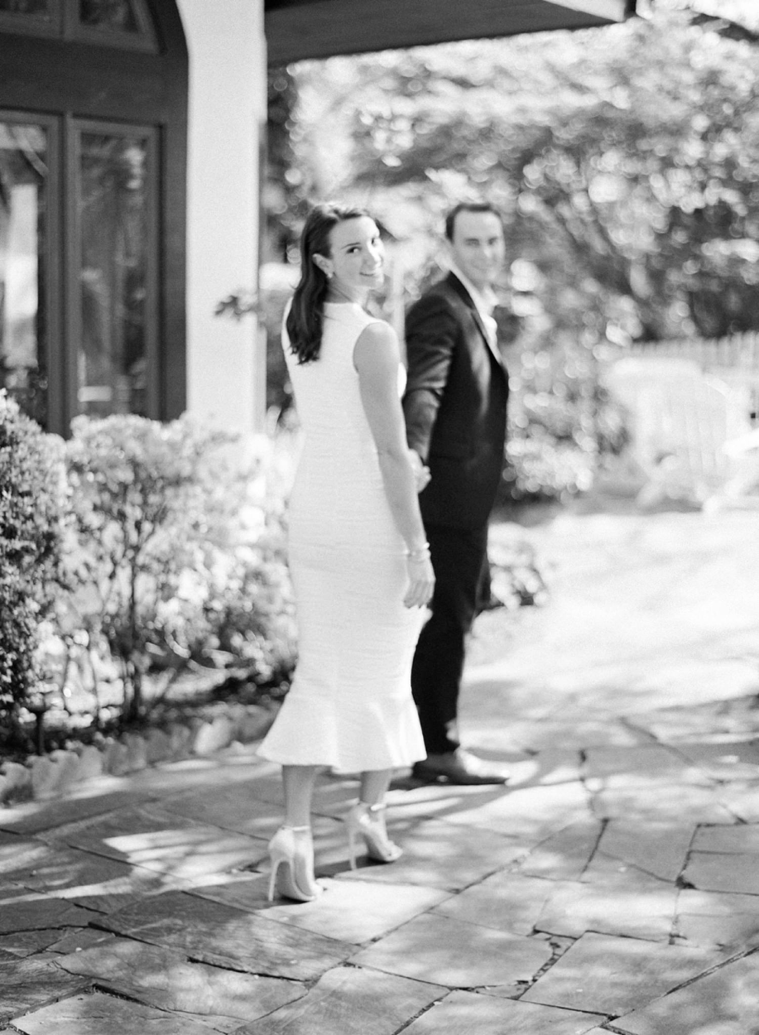 french inspired engagement session in Virginia