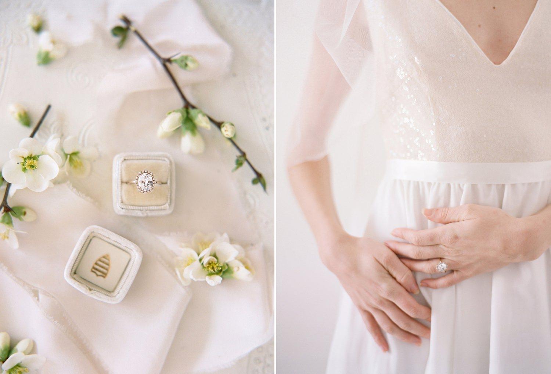 spring bridal fashion shoot