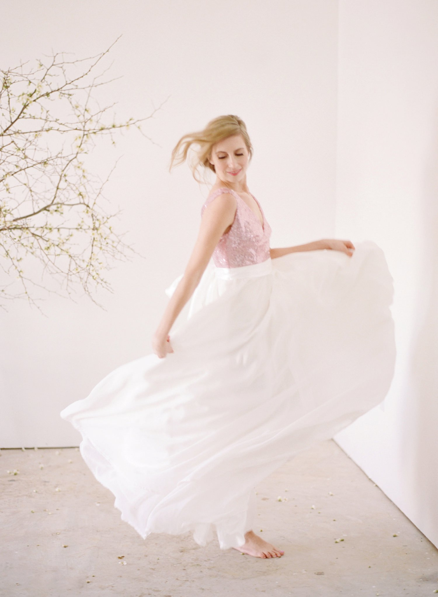 french bridal design lookbook photography