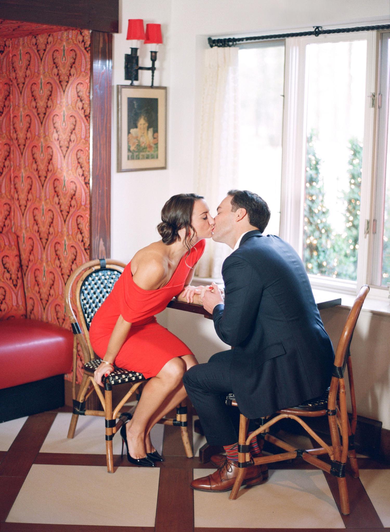 L'Auberge Chez Francois engagement session