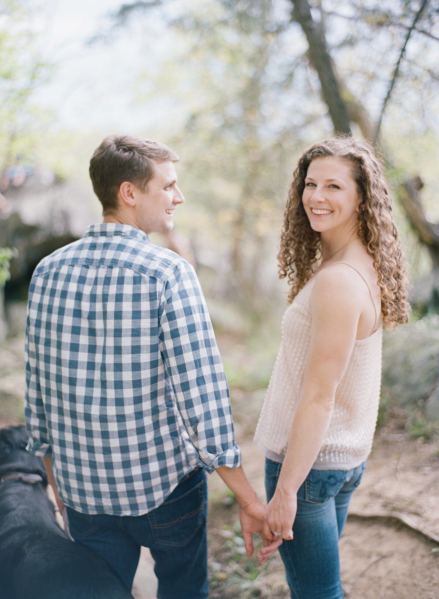 virginia engagement session at great falls
