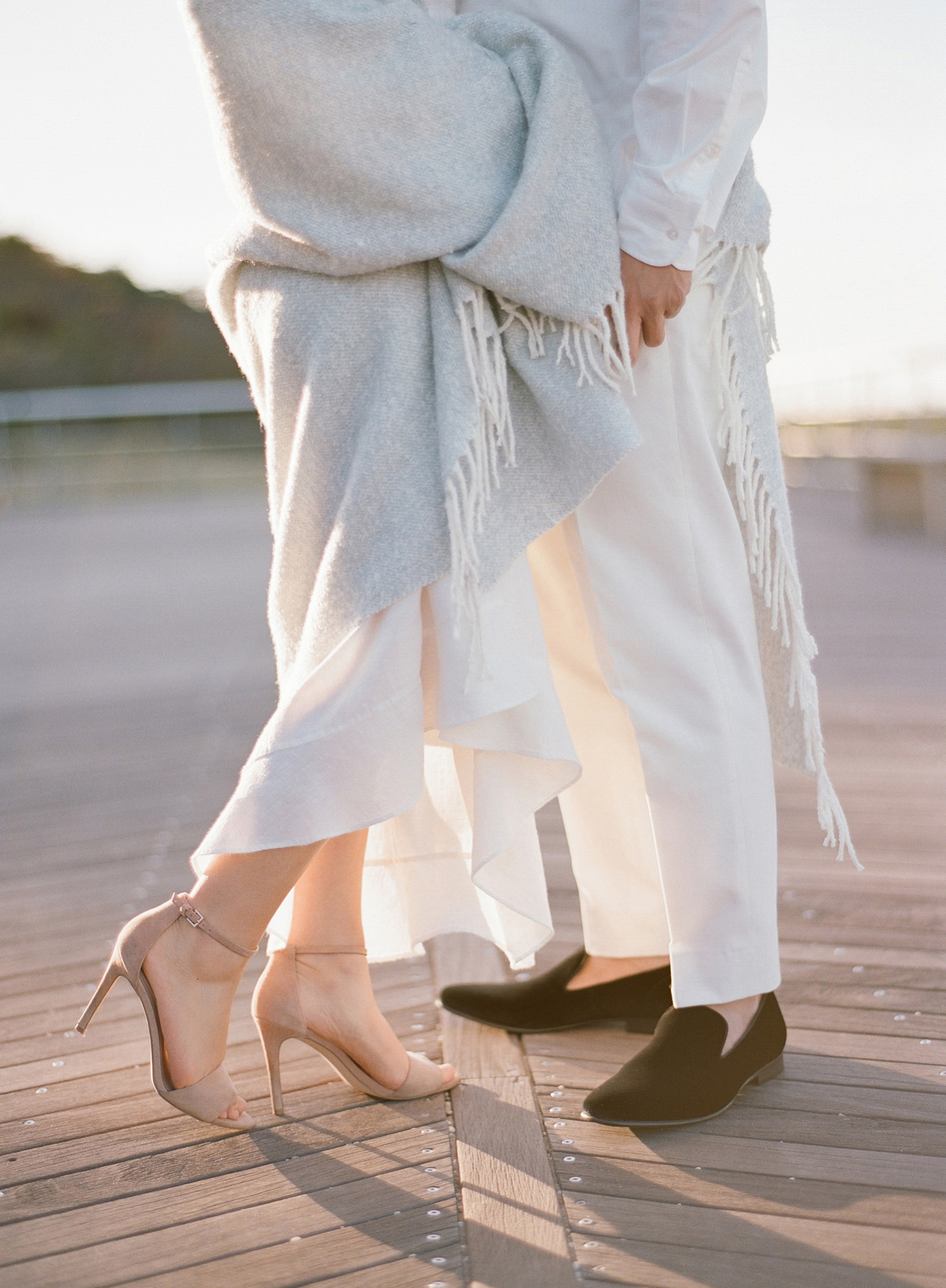 boardwalk engagement photos