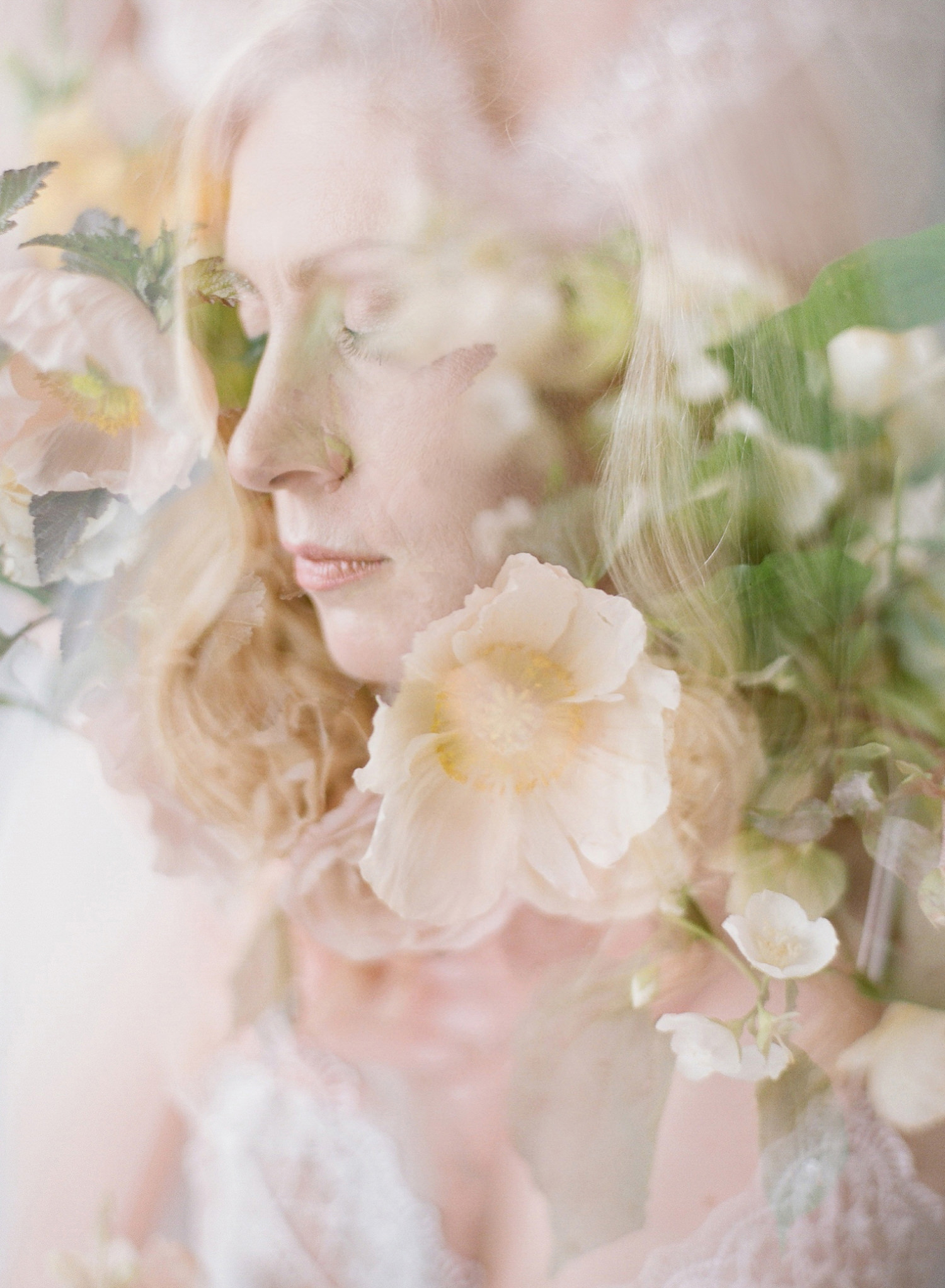 fine art bridal boudoir session
