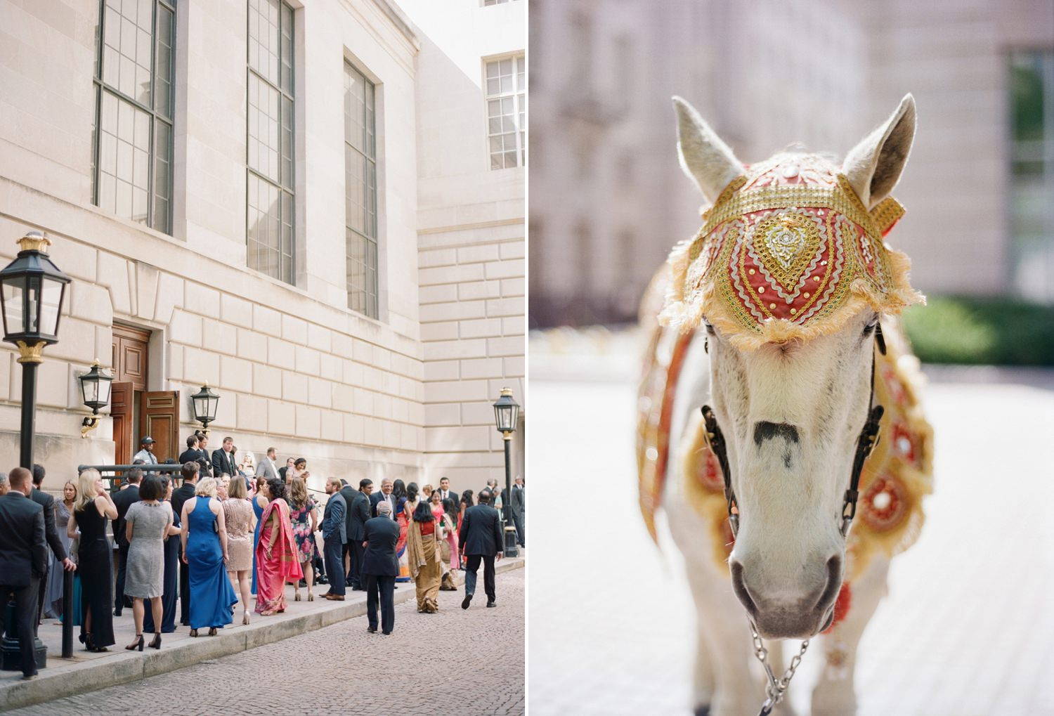 Mellon Auditorium Indian Wedding