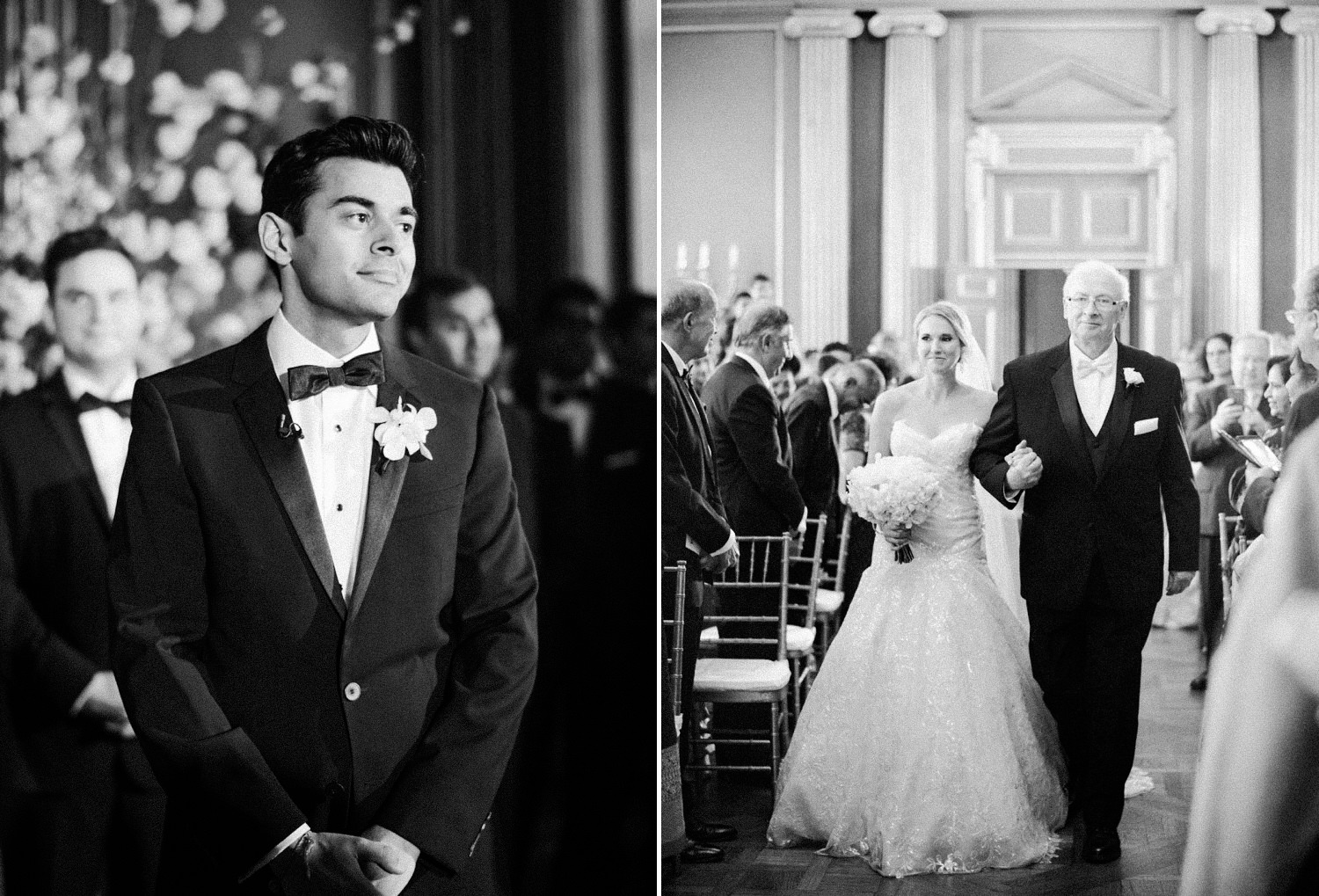 mellon auditorium wedding ceremony