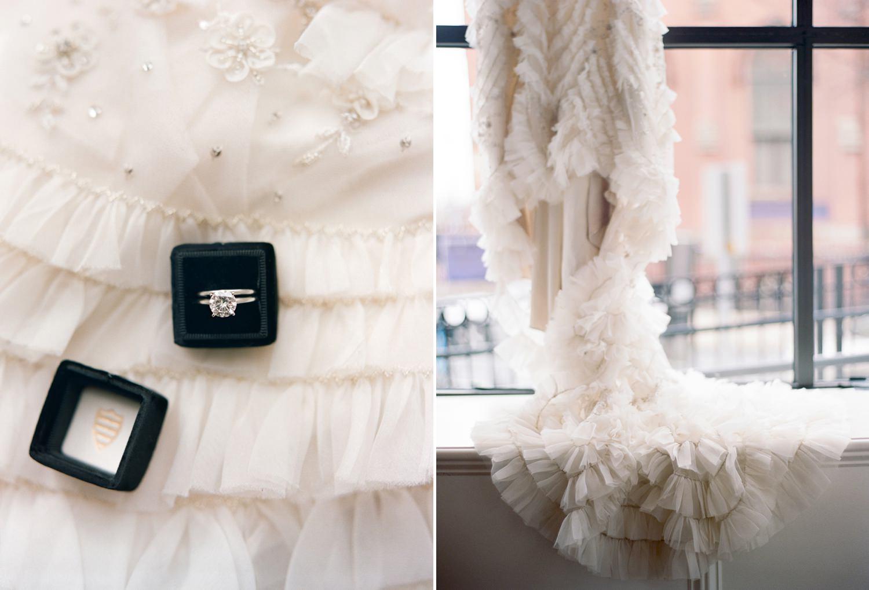 fine art film maryland wedding photographer