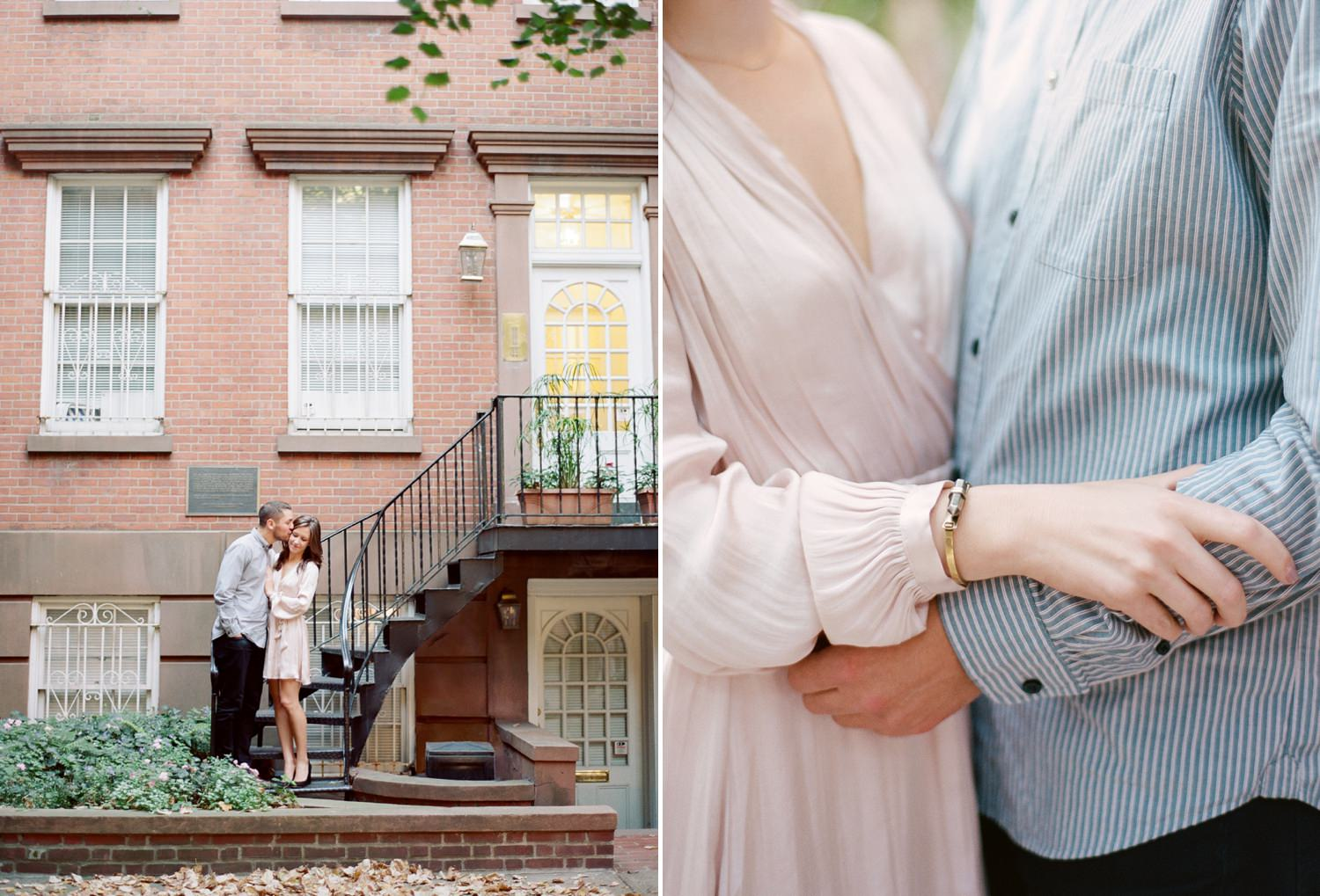 west village engagement session