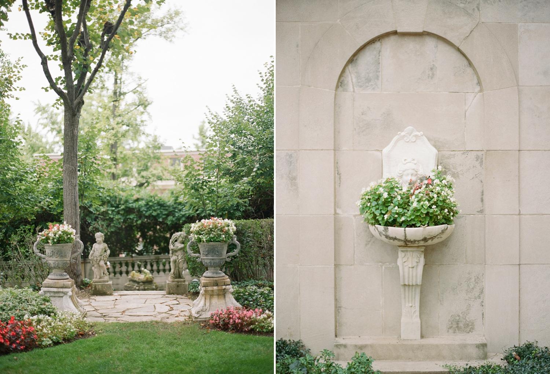 garden wedding Meridian House DC